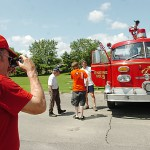 New Jersey man's firetruck highlight of gathering