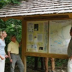 New Appalachian Trailhead sign dedicated