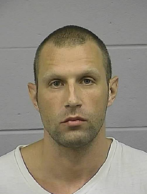Colin Koehler, 34, of Bangor. Arrested on Tuesday, August 11, 2009 and charged with the murder of Holly Boutilier, 19, of Old Town. (Photo courtesy of Penobscot County Sheriff Department)