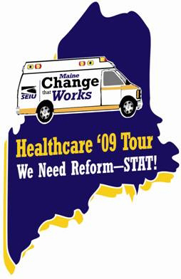 Healthcare Reform '09 Tour wraps up in Bangor