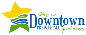 Voters in Presque Isle have decided that this is the best logo to showcase the city's promising downtown and lure more shoppers into the area. Two logos were unveiled by the city?s Downtown Revitalization Committee and Fort Kent-based graphic designer Heidi Carter in May. Voters picked this logo by a 2-1 margin. Carter is the owner and creative director of Heidesign, the Fort Kent firm that designed the logos. (PHOTO COURTESY OF THE PRESQUE ISLE DOWNTOWN REVITALIZATION COMMITTEE)