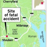Two teens die after crash in Steuben Tuesday night