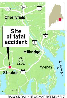 Steuben Maine Map.Two Teens Killed 12 Year Old Girl Injured In Steuben Crash Down