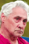 Kent Hanson, 62, appeared in 3rd District Court in Bangor for on Monday.  Hanson originaly of Brattleboro,Vt was charged with class B theft for the steeling of a pick up truck in Charleston.  BANGOR DAILY NEWS PHOTO BY GABOR DEGRE   DO NOT PRINT PHOTO CREDIT IN THE NEWSPAPER!!!