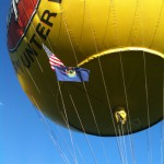 Balloon on trek lands in Spain