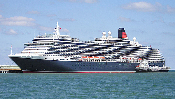 Part of the Cunard Line fleet, the Queen Victoria is the second largest Cunard ship ever built.  (Photo provided by WIkimedia Commons)