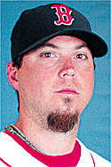 ** ADVAVNCE FOR WEEKEND EDITIONS, SEPT. 29-30 -- FILE -- ** From left are 2007 file photos showing Boston Red Sox' Josh Beckett, Colorado Rockies' Matt Holliday, Los Angeles Angels' John Lackey and Cleveland Indians' C.C. Sabathia. (AP Photo/File)