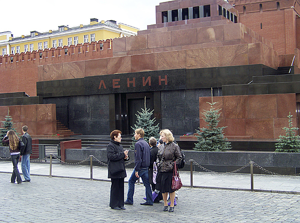 The Lenin Mausoleum: When the infamous Soviet leader died of a stroke in 1924 scientists, under orders from Soviet leader Joseph Stalin, worked round the clock to discover a secret formula to preserve the body forever. Lenin's body can still be seen on display several times a week in the Lenin Mausoleum in Moscow's Red Square. (Levi Bridges photo)
