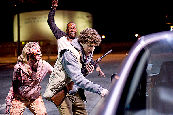 Jesse Eisenberg stars in Columbia Pictures' ZOMBIELAND.