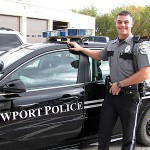 Newport Police Department hires new patrol officer