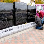 Milo remembers all veterans with new monument, ceremony