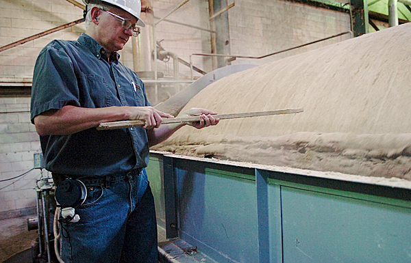 Old Town mill finds new life in old product — wood pulp