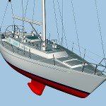 Morris Yacht uses vacuum mold to create 8 Coast Guard sailboats