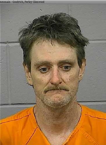 mugshot of Perley Goodrich Jr. Photographed Friday morning, October 30, 2009 following his arrest. photo: courtesy of Penobscot County Jail