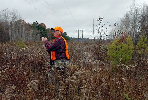 &quotI've had phenominal luck here over the years,&quot said Bradley Dickey of Hampden of the Orrington field where he spent opening day of the deer hunting season Saturday, Oct. 31, 2009. &quotI just love to get out. I wish more kids would do it 'cause the things that you see at the crack of dawn, you wouldn't believe it.&quot Maine Department of Inland Fisheries and Wildlife deer and moose biologist Lee Kantar said he expects that hunters will bring in just under 20,000 deer this year. (Bangor Daily News/Bridget Brown)