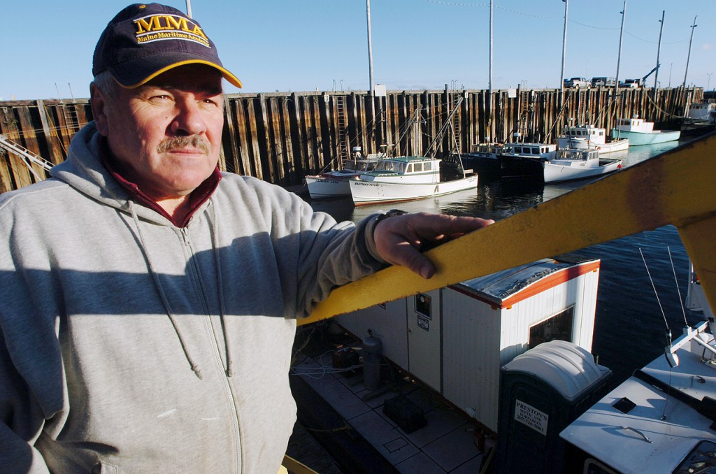 Eastport ship pilot Bob Peacock has donated the use of his 48-foot, twin engine Medric II for an underwater survey which will begin today in a joint effort between state and federal agencies for two urchin fishing vessels that recently sank in Cobscook Bay. &quotWe've had too many wrecks and don't want it to happen again,&quot said Peacock on Monday, Nov. 1, 2009 in Eastport of the tragic accidents of the last year. (Bangor Daily News/Bridget Brown)