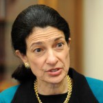 Thankful for warrior for Maine, Olympia Snowe