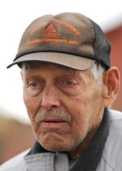Elwood Mason, Levant deer farmer. Image made on Friday, Nov 7, 2009. BANGOR DAILY NEWS PHOTO BY KEVIN BENNETT