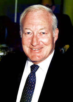 Ival &quotBud&quot Cianchette, co-founder of Cianbro Corp, died Thursday, Nov. 5, 2009 at the age of 83. (Photo courtesy of Cianbro Corporation)