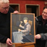 Brownville man donates painting to school