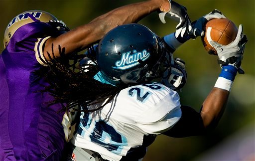 UMaine overcomes penalties, holds off Rhode Island for fifth victory