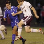 Falmouth heads up in victory over PI
