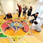 Tibetan scholar brings art of sand painting to Deer Isle