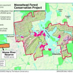 Preserved pond, river tracts link Moosehead to Baxter
