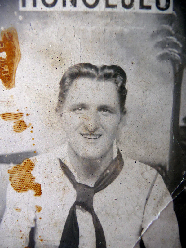 A 1941 photo of Robert P. Coles, who was assigned to the USS Bagley at Pearl Harbor. (Photo Courtesy of Robert P. Coles)