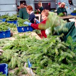 In Skowhegan, wreath making is personal