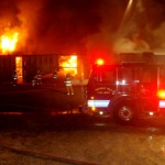 One dead in early morning fire in Presque Isle