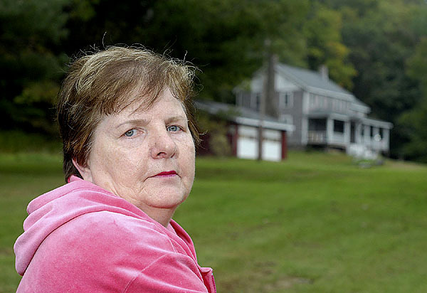 9/23/09 Janet Haiss at her parent's old farm house on Denman Mountain in Grahamsville, NY, where on May 25, 1955, her 23-month-old brother, Freddie &quotTooke&quot Holmes vanished. For the Times Herald-Record/MIKE RICE