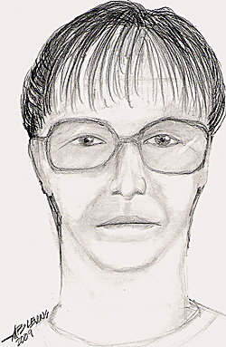 State Police also released a composite drawing of a middle aged woman who was seen at the Miller home on Saturday morning.  Detectives say they would like to identify her so they can speak to her.  The woman is described as in her mid 50s, about 5'3&quot to 5'4&quot tall and weighing about 130 pounds.  She had dark hair tied into a pony tail and her hair was graying at the banks . The woman also wore bi-focal eye glasses.   PHOTO COURTESY OF THE MAINE DEPARTMENT OF PUBLIC SAFETY