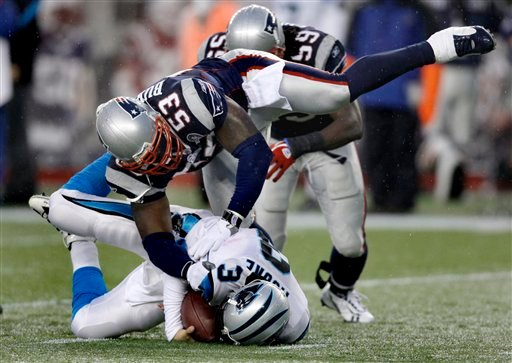 Brady throws 4 TD passes, Patriots top Lions 45-24