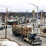Route 2 residents adjust to renewed truck traffic