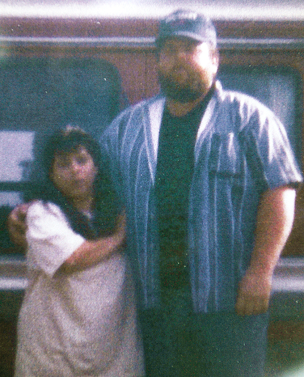 Webster Plantation homicide victims Valerie and Michael Miller Sr. in 2008. (Photo courtesy of the Miller family)