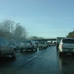 I-95 crash jams traffic around Bangor Mall