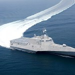 Newest warship hits speed over 50 mph