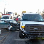 2 Presque Isle crashes keep police busy
