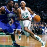 Garnett practices for first time since injury