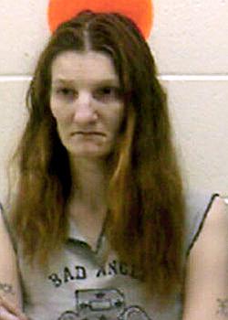 Julie Bragdon-Carr, alleged Mars Hill sex offender. (Photo courtesy of Aroostook County Jail)