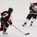 Witches' speed, conditioning, depth sink Rams in hockey