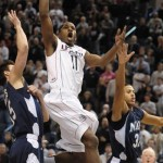 UConn beats No. 17 W.Va. 57-51