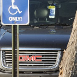 Disabled vet plate not enough to avoid a parking ticket