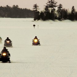 Safety urged on Maine snowmobile trails