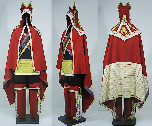 replica matchcoat made for the New Brunswick Museum in the 1980s.  Please credit the New Brunswick Museum. BLOCH STORY?
