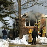 Long-burning fire destroys Monroe home