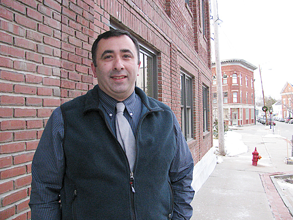 BELFAST -- Detective Mike McFadden is leaving the Belfast Police Department after 19 years to join the Maine State Police Computer Crimes Unit as an investigator. That agency tracks down child pornographers, among other tasks. &quotAs far as I'm concerned, this is some of the most demanding work and some of the most important work a police officer can do,&quot he said last week. BANGOR DAILY NEWS PHOTO BY ABIGAIL CURTIS