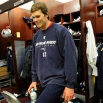 Patriots: Brady attends practice after 2-car wreck