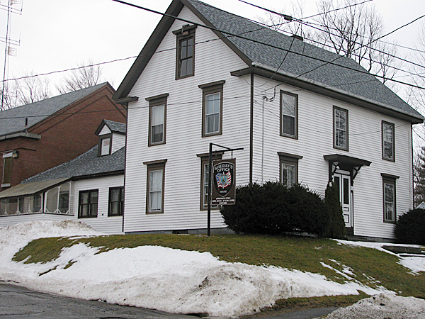 BELFAST -- This 200-year-old house has been the longtime home of the Waldo County Sheriff's Office. By this time next year, it should be vacated after a new building is constructed off Miller Street. BANGOR DAILY NEWS PHOTO BY ABIGAIL CURTIS